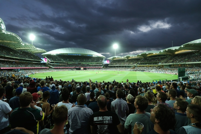 The Adelaide Oval will host the first ever day-night Test match