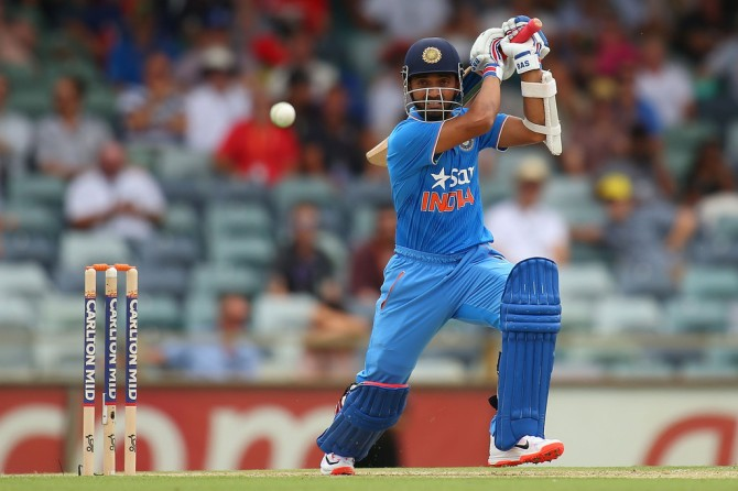 Rahane will captain India throughout their tour of Zimbabwe