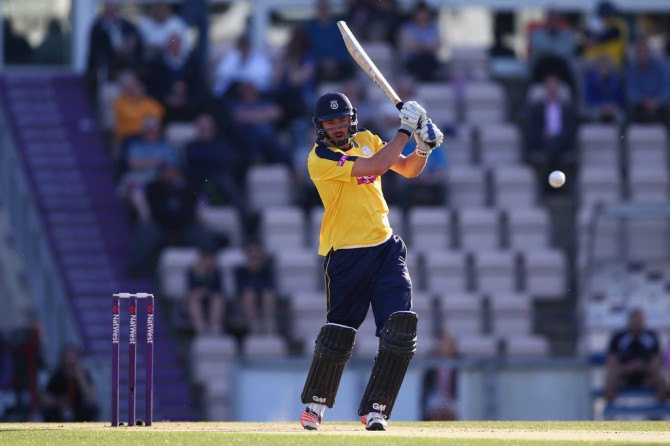 Vince has represented Hampshire in six Natwest T20 Blast matches this season and scored 274 runs at an average of 68.50