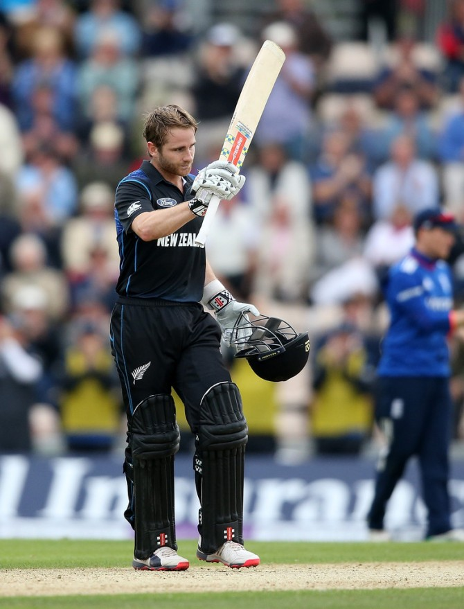 Williamson was named Man of the Match for his knock of 118