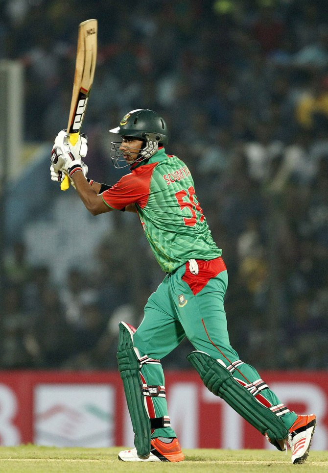 Sarkar was named Man of the Match for his spectacular knock of 90