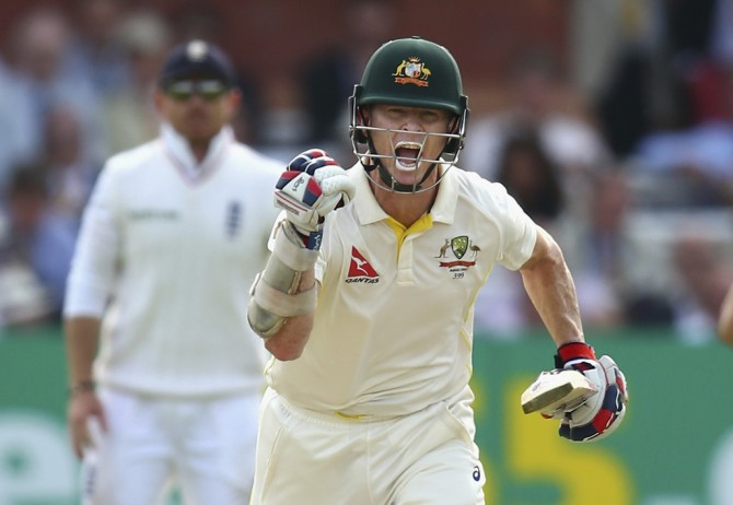 Rogers is over the moon after scoring his fifth Test century