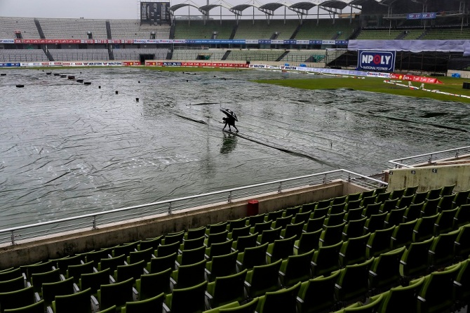 The weather had the final say as the series ended in disappointing fashion