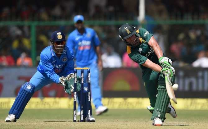 De Villiers was named Man of the Match for scoring his 21st ODI century