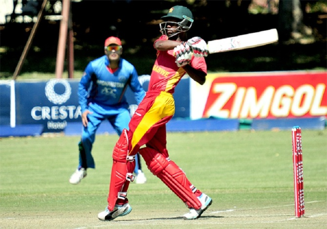 Mutumbami hit four boundaries and two sixes during his career-best knock of 74