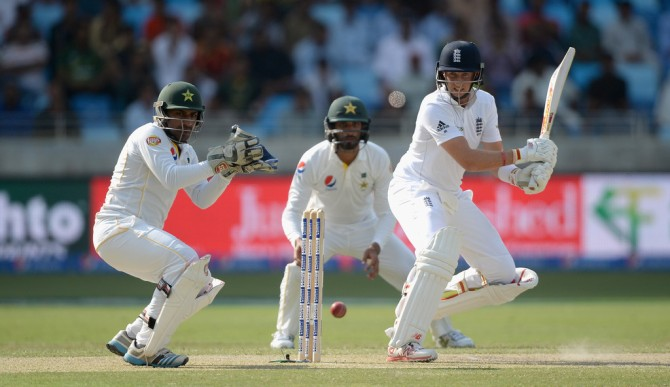 Root hit nine boundaries during his unbeaten knock of 76
