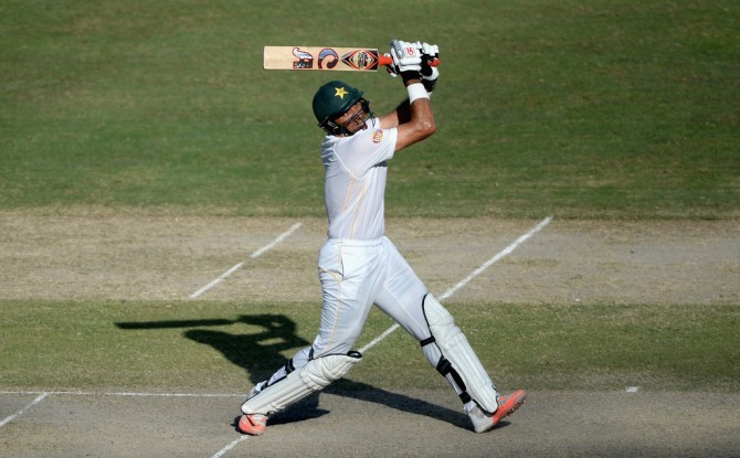 Ul-Haq hit eight boundaries and four sixes during his unbeaten knock of 87