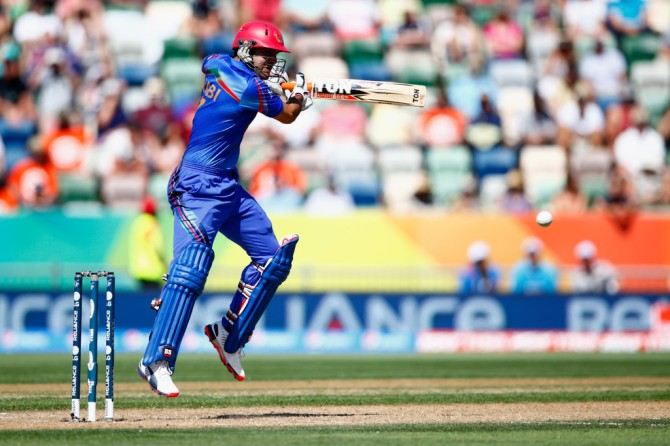 Nabi scored his maiden ODI century