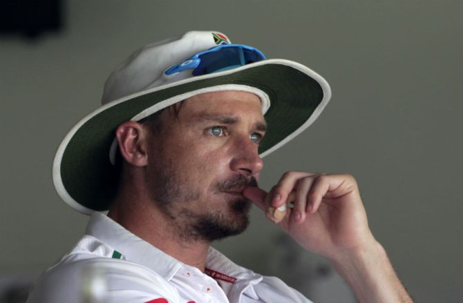 Steyn has yet to recover from a groin strain he suffered in the first Test