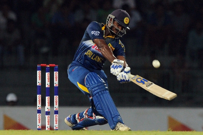 Perera fell one agonising run short of his third ODI century