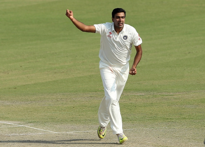 Ashwin claimed his 13th five-wicket haul