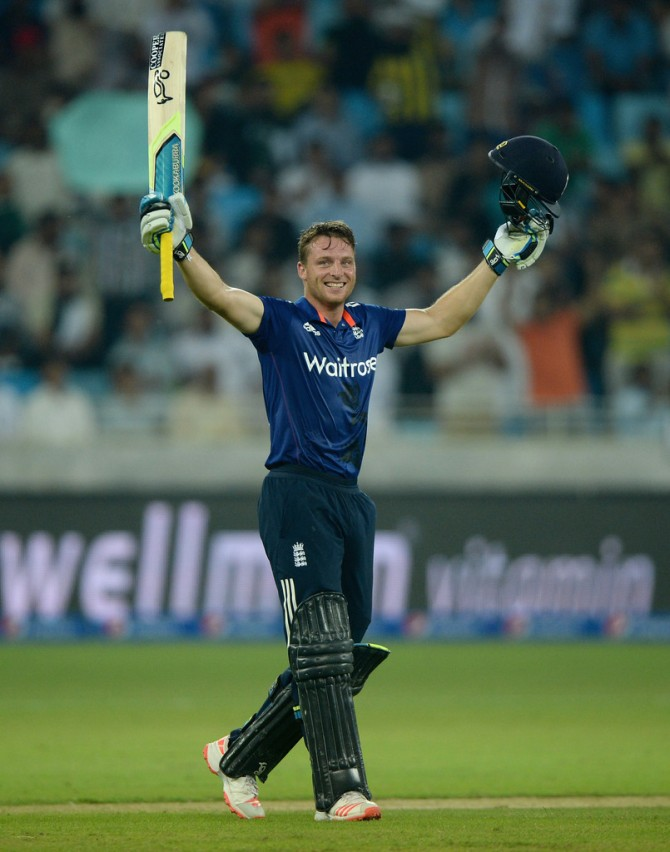 Buttler smashed the fastest ODI century by an England player