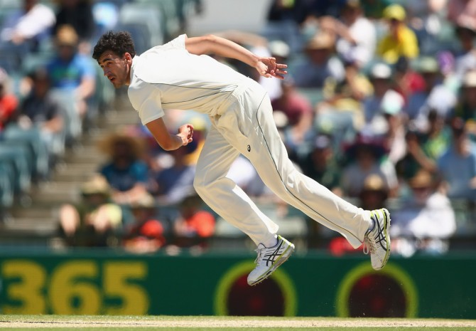 Starc holds the record for the fastest ball ever bowled in a Test match