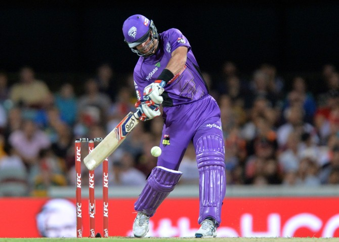 Christian smashed three boundaries and four sixes during his unbeaten innings of 56