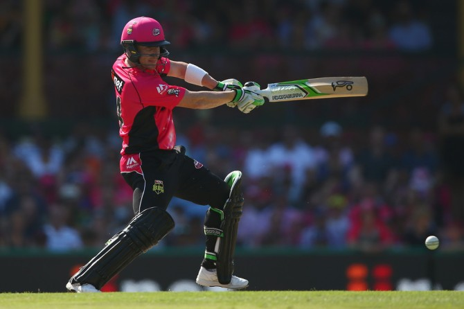 Haddin hammered eight boundaries and two sixes during his knock of 72