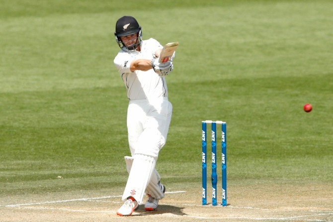 Williamson scored his 19th Test fifty