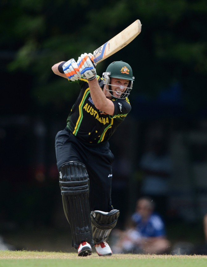 """I am delighted to be involved in Australia's campaign for the World T20 title"""