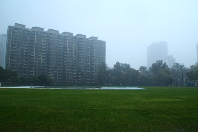Heavy rain saw the second ODI abandoned without a single ball bowled