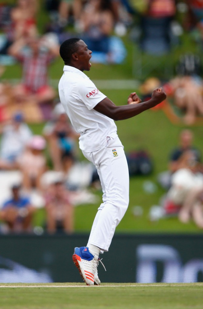 Rabada finished with career-best figures of 7-112 off 29 overs