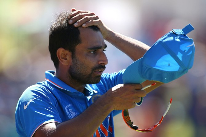 Shami's hamstring injury will require four to six weeks to heal