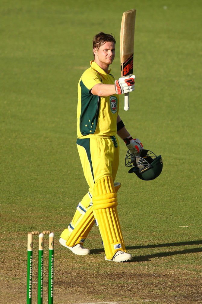Smith was named Man of the Match for his career-best knock of 149