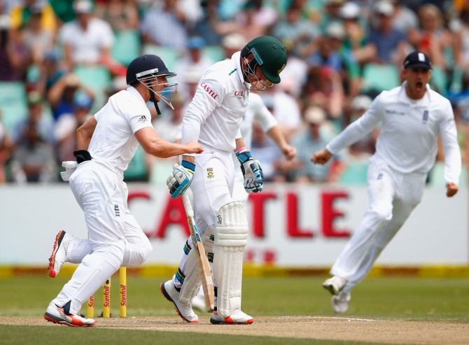 Van Zyl will not feature in the fourth Test against England