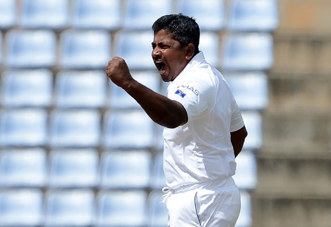 Herath finished with figures of 5-54 off 33.3 overs