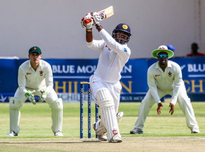 Perera struck 15 boundaries and two sixes during his career-best knock of 110