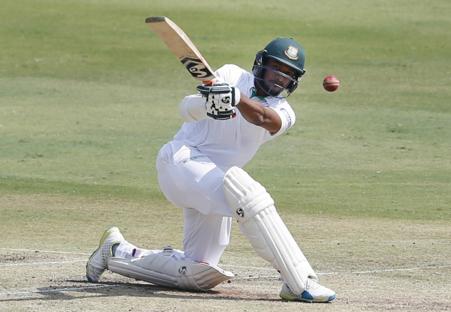 Shakib scored his 21st Test fifty