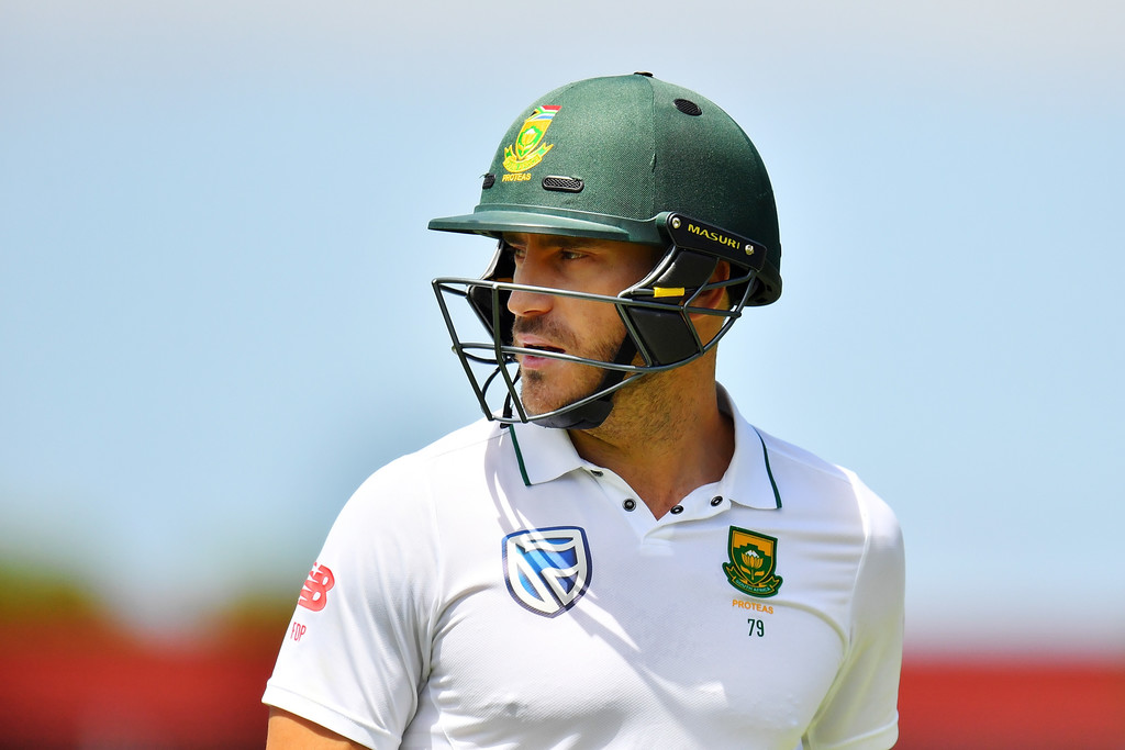 Du Plessis hints at retirement post 2019 World Cup