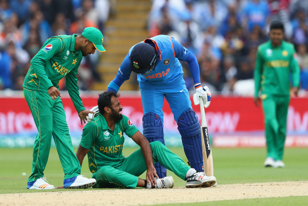 Wahab Riaz ruled out of Champions Trophy due to injury