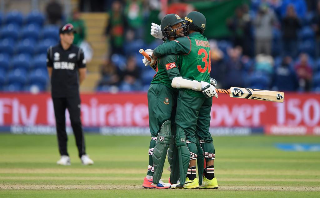 Shakib, Mahmudullah help Bangladesh stun New Zealand