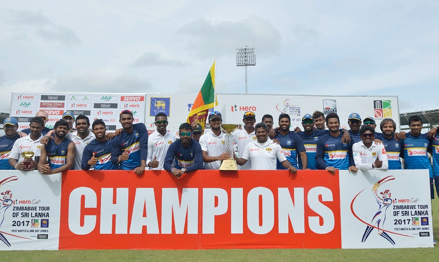 Sri Lanka score record win
